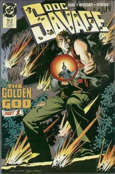 Doc Savage (1988) 9-A by DC