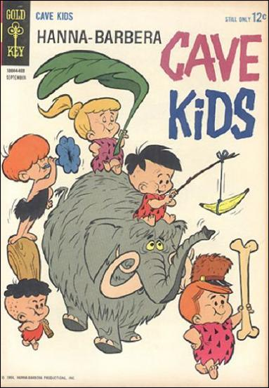 Cave Kids 6-A by Gold Key