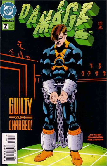 Damage (1994) 7-A by DC