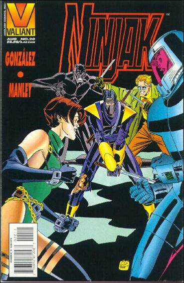 Ninjak (1994) 20-A by Valiant