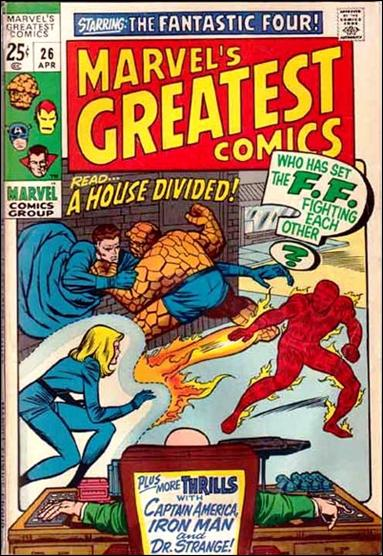 Marvel's Greatest Comics 26-A by Marvel