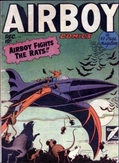 Airboy Comics (1948) 11-A by Hillman