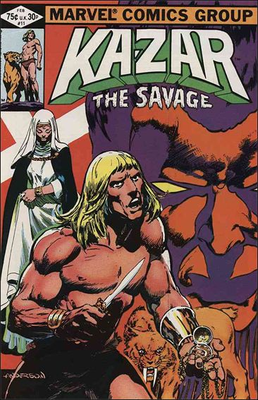 Ka-Zar the Savage 11-A by Marvel
