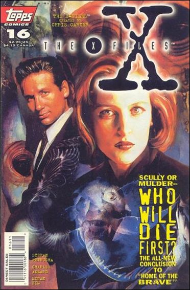 X-Files (1995) 16-A by Topps