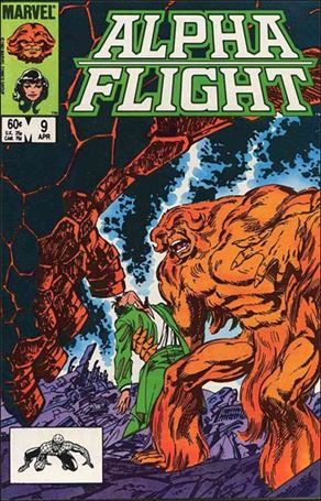 Alpha Flight (1983) 9-A