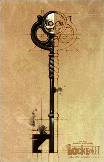 Locke & Key: Welcome to Lovecraft  1-B by IDW