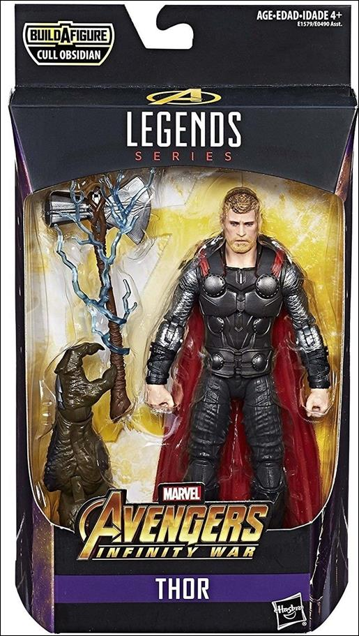 Marvel Legends Series: Avengers (Cull Obsidian Series) Thor by Hasbro