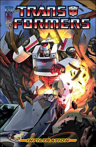 Transformers: Infiltration 1-A by IDW
