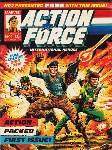 Action Force (UK) 1-A by Marvel UK