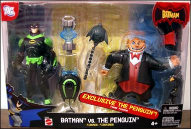 Batman (Target 2-Packs) Batman vs The Penguin by Mattel