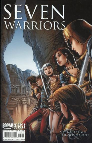 7 Warriors 2-A by Boom! Studios