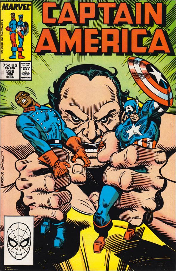Captain America (1968) 338-A by Marvel