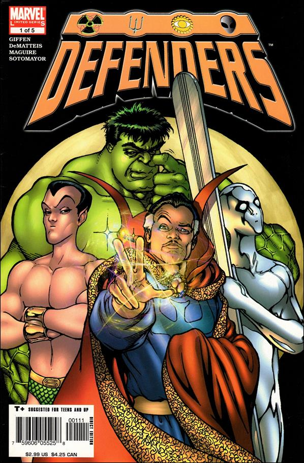 Defenders (2005) 1-A by Marvel