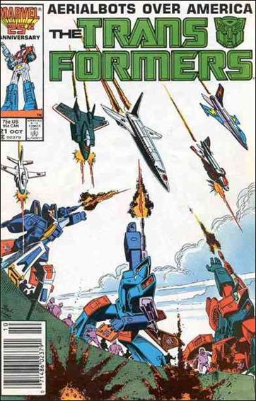 Transformers (1984) 21-A by Marvel