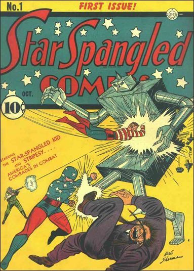 Star Spangled Comics (1941) 1-A by DC