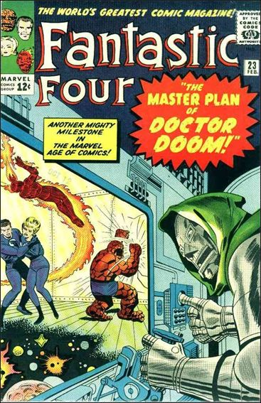 Fantastic Four (1961) 23-A by Marvel