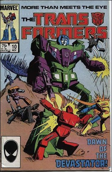 Transformers (1984) 10-A by Marvel
