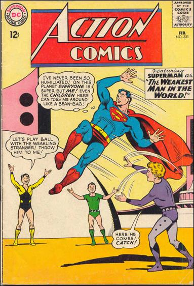 Action Comics (1938) 321-A by DC