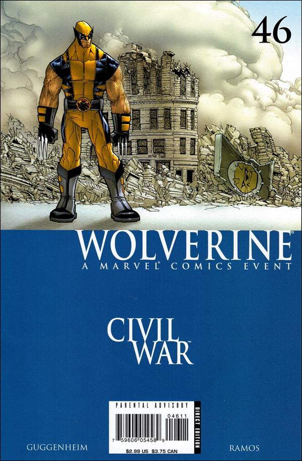 Wolverine (2003)  46-A by Marvel