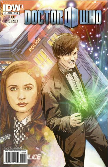 Doctor Who (2011) 1-A by IDW