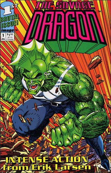 Savage Dragon (1992) 1-A by Image
