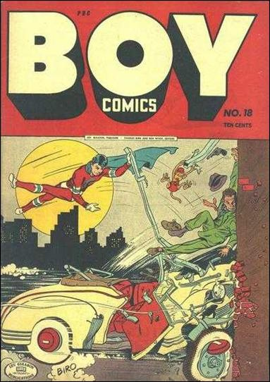 Boy Comics 18-A by Lev Gleason Productions