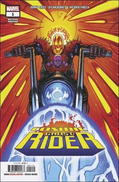 Cosmic Ghost Rider 1-Q by Marvel