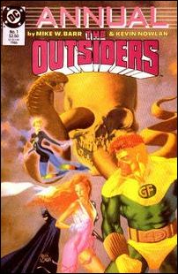Outsiders Annual 1-A by DC