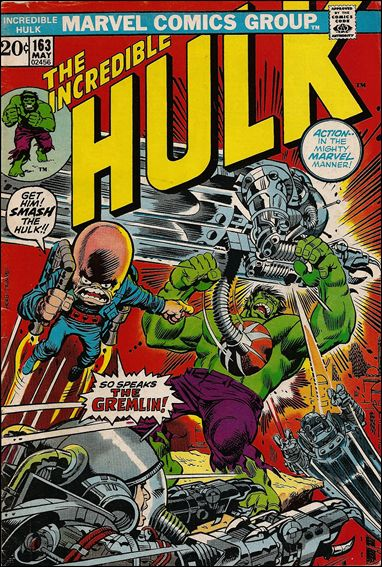 Incredible Hulk (1968) 163-A by Marvel
