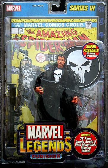 Marvel Legends (Series 6) Punisher (Movie Version) by Toy Biz