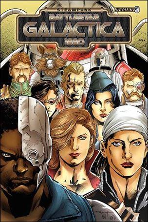 Steampunk Battlestar Galactica: 1880 3-A