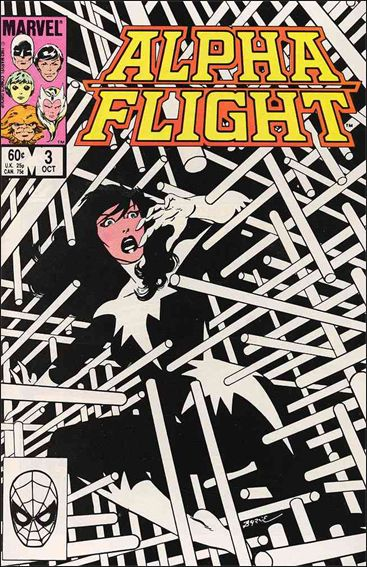 Alpha Flight (1983) 3-A by Marvel
