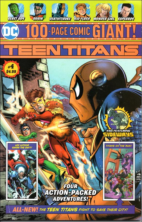 Teen Titans Giant 4-A by DC