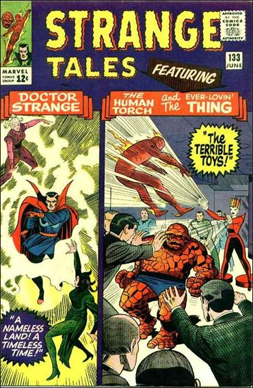 Strange Tales (1951) 133-A by Marvel