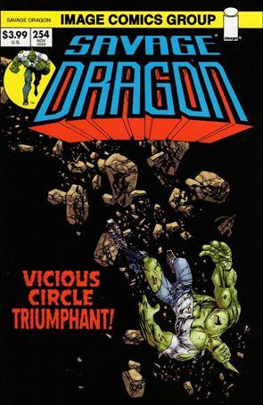 Savage Dragon (1993) 254-B