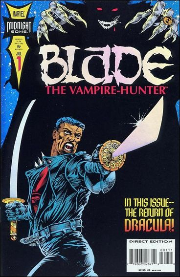 Blade: The Vampire-Hunter 1-A by Marvel