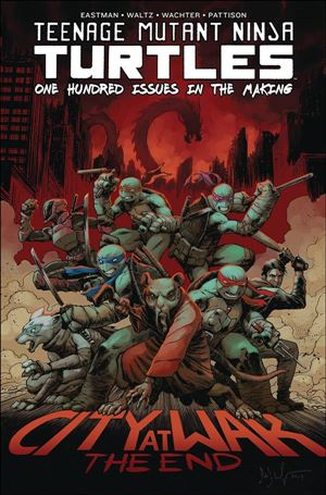 Teenage Mutant Ninja Turtles #100 nn-A