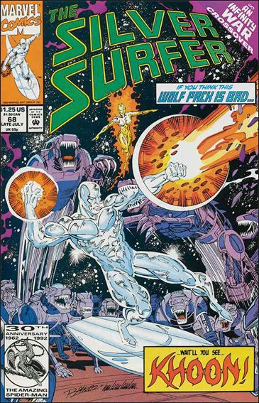 Silver Surfer (1987) 68-A by Marvel