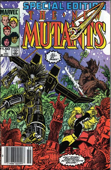 New Mutants Special Edition 1-A by Marvel