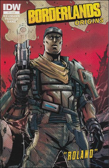 Borderlands: Origins 1-A by IDW