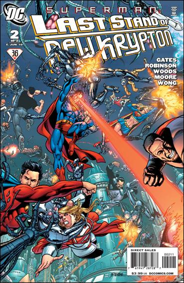 Superman: Last Stand of New Krypton 2-A by DC