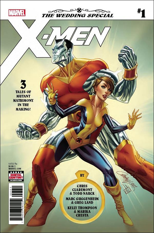 X-Men: The Wedding Special 1-A by Marvel