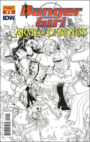 Danger Girl and the Army of Darkness 6-C by Dynamite Entertainment