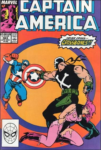 Captain America (1968) 363-A by Marvel