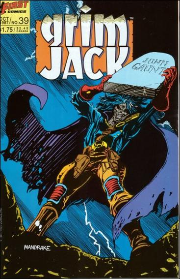 Grimjack 39-A by First