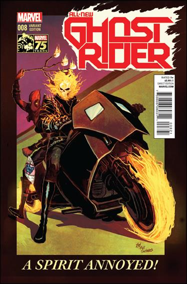 All-New Ghost Rider 8-B by Marvel