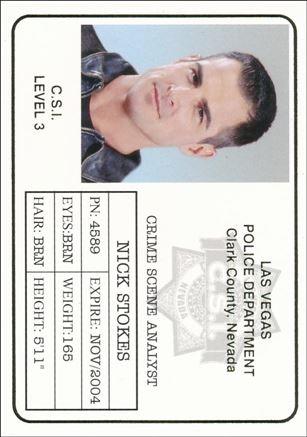 CSI: Crime Scene Investigation - Series Two (Gold Foil Set A) B4-A