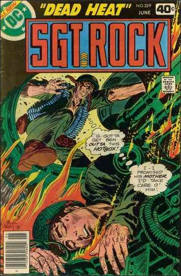 Sgt. Rock (1977) 329-A by DC