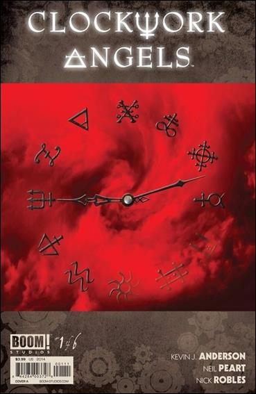 Clockwork Angels 1-A by Boom! Studios