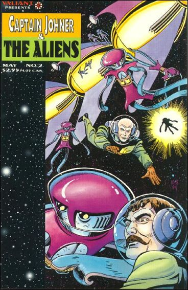 Captain Johner & The Aliens 2-A by Valiant